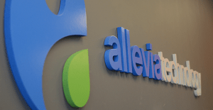Photograph of Allevia Technology Logo