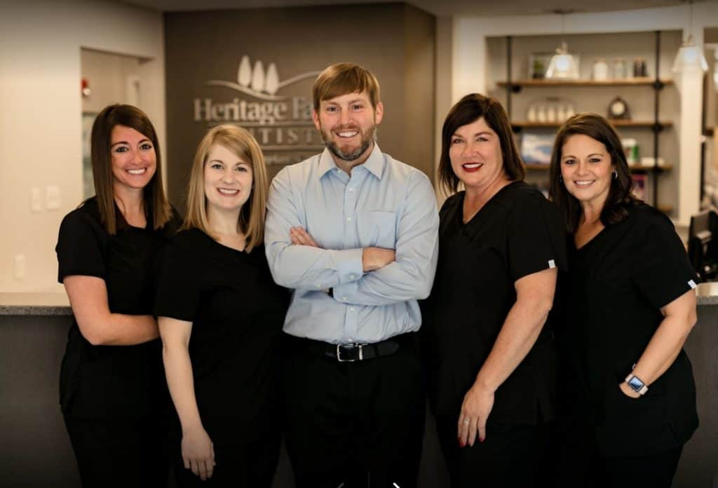 Heritage Family Dentistry group shot