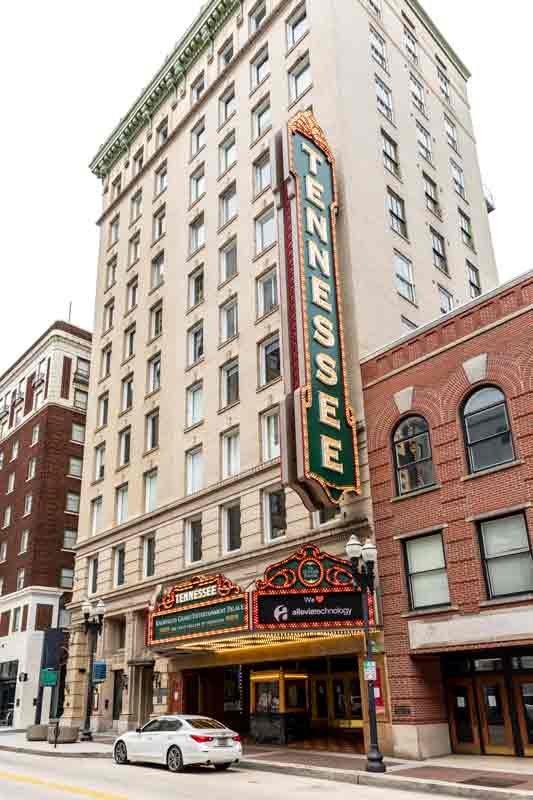 Image of the Tennessee Theatre exterior